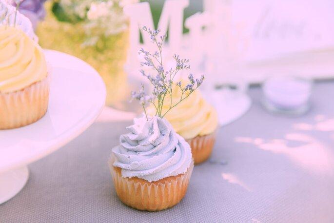 Cupcakes bei der Hochzeit im Tessin.