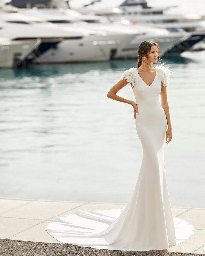 Vestidos de novia elegantes para bodas 2021