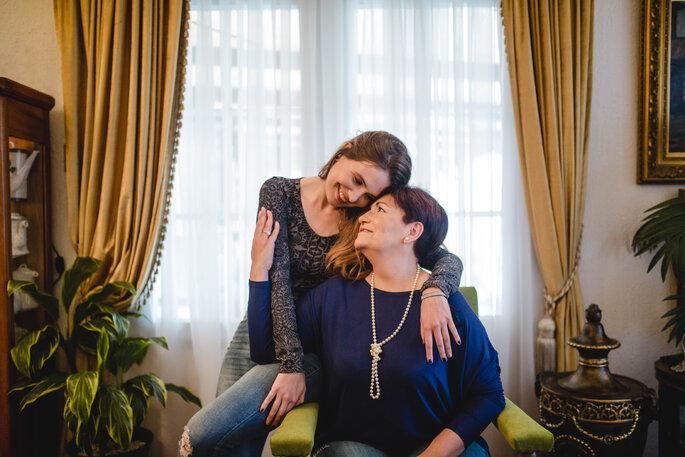 Soledad Provens y su hija Constanza/ Imágenes cedidas por su hija Constanza Toro Provens
