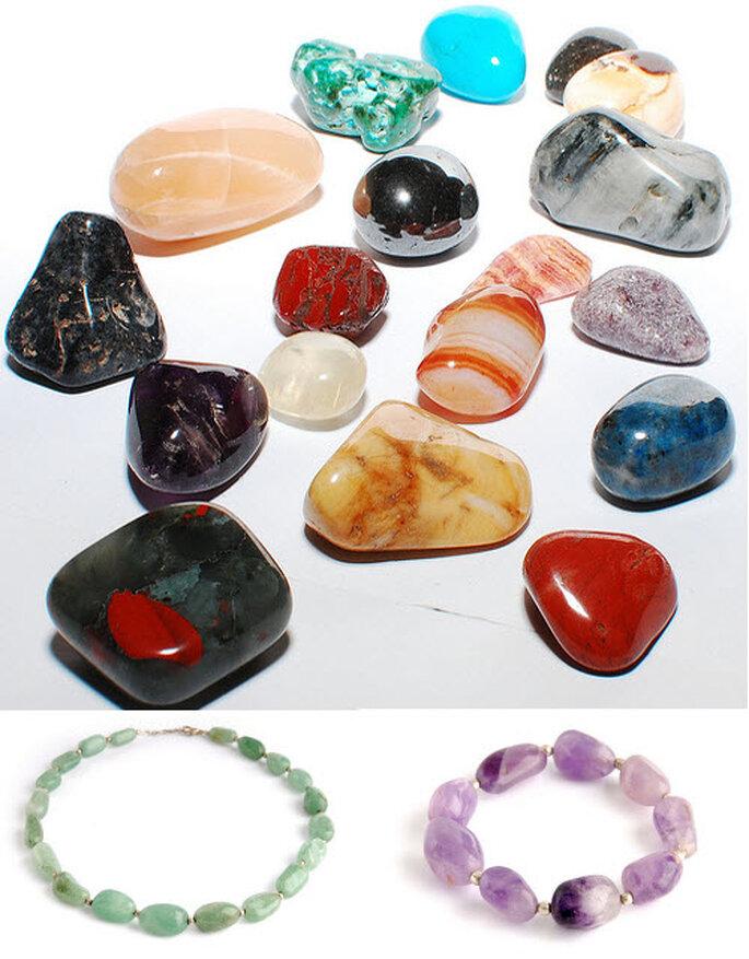 La variedad de piedras es enorme