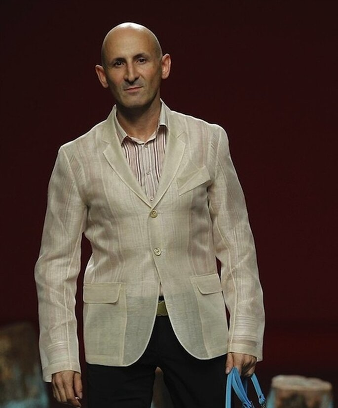 Modesto Lomba, diseñador y Presidente de la Asociación de Creadores de la Moda de España.