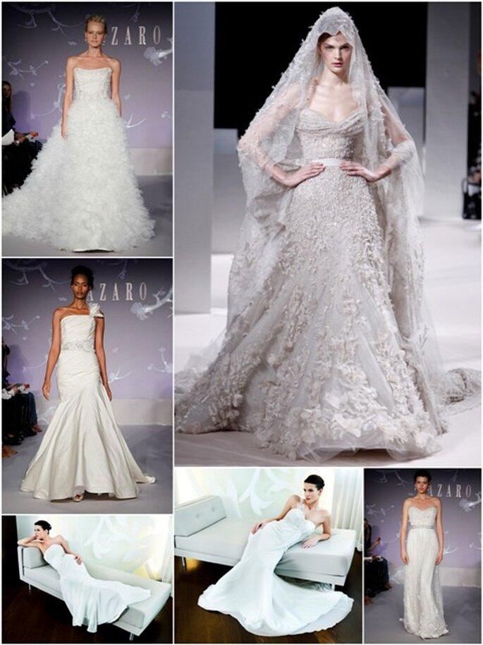 Top Trends für Brautkleider 2012