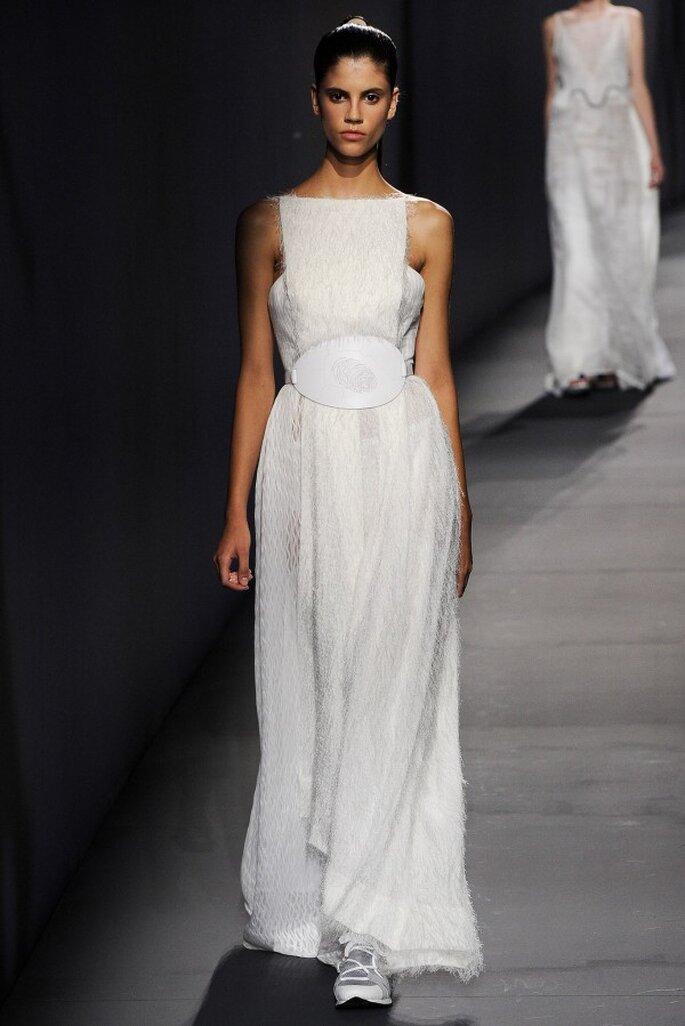 Vestidos de novia con un toque avant garde - Foto Vionnet