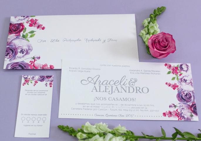 La presentacin de tu boda con hermosas invitaciones para sorprender pide ms informacin a amelia paper design altavistaventures Image collections
