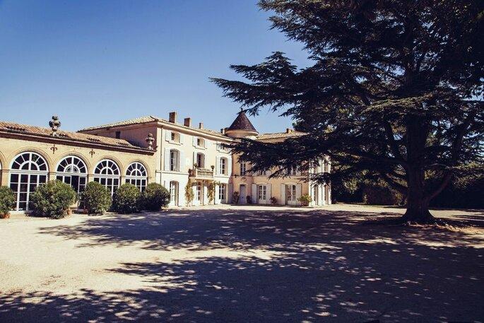 Le Château d'Alphéran - mariage - salle de réception - paca - couple