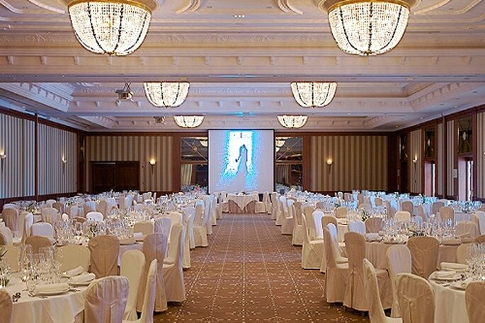 Gran salón de bodas. Foto: Hilton Buenavista Toledo.