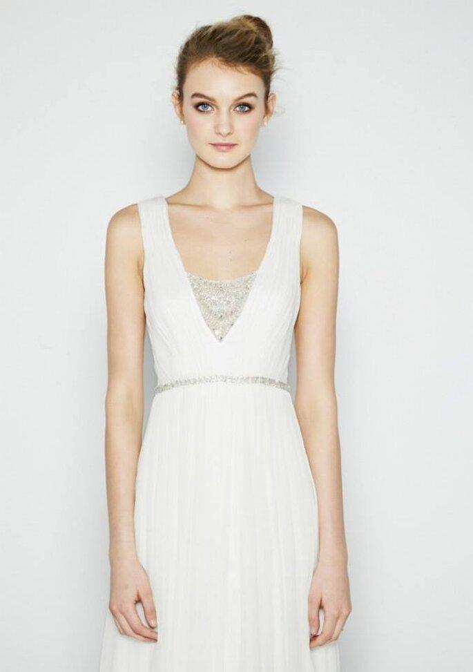 Vestidos de novia 2015 con inspiraciones grecoromanas - Nicole Miller