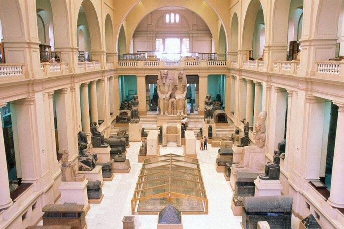 Египетский национальный музей в Каире. Credits: Чудесные места