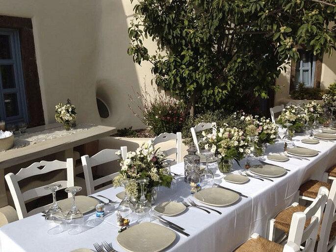 Organización de las mesas. Foto: Fabio Zardi