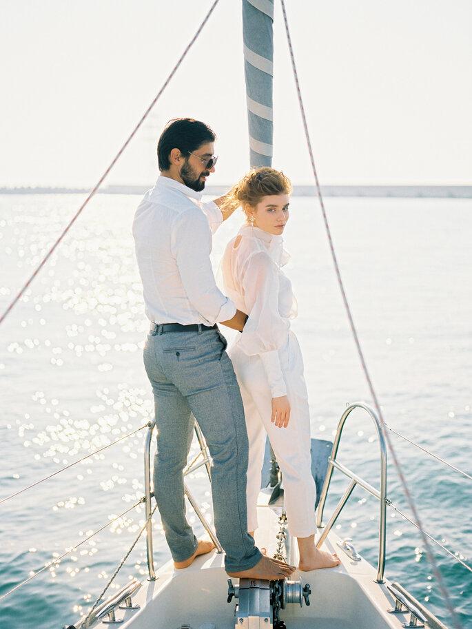 Море ближе, чем вам кажется: романтическая фотосессия Лизы и Гаджи