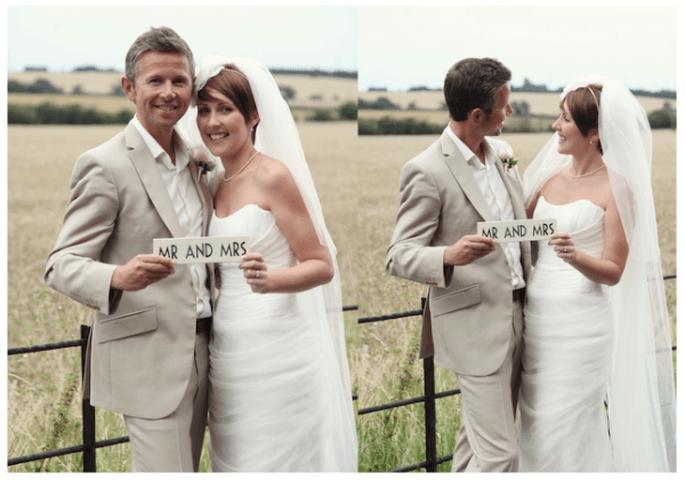 Cómo peinar mi fleco el día de la boda - Foto Funky Photographers