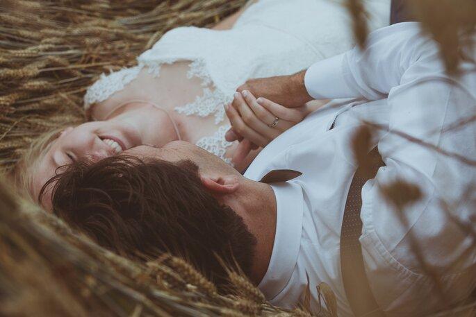 séance couple- mariage champêtre dans l'Eure-et-Loir