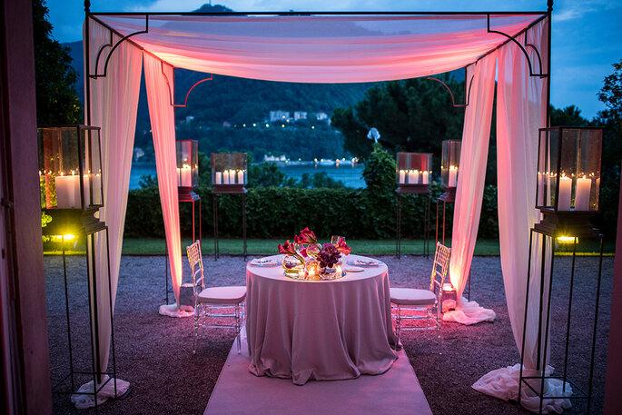 COMO IN STYLE SRL - tavolo degli sposi