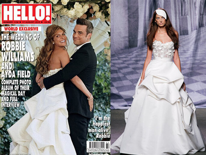 Casamento de Robbie Williams e Ayda Fields