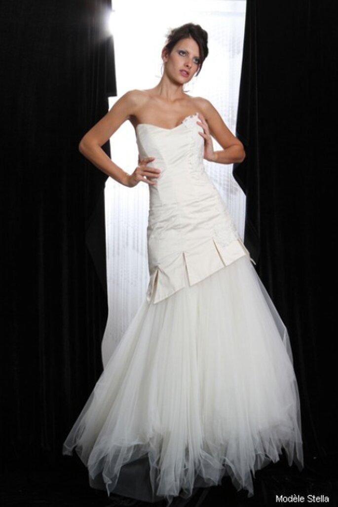Robe de mariée Marie Viloteau :  Stella