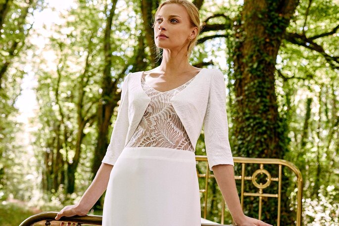 Robe Elvia de la collection 2021 Mathilde Marie