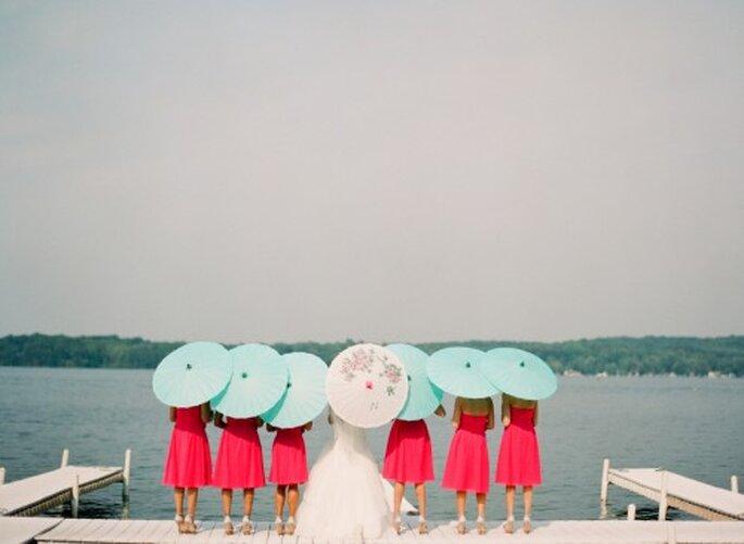 10 cosas que debes tomar en cuenta para una boda en la playa - Foto Jen Lynne