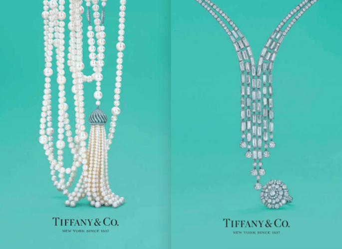 "Collares extra largos de perlas y diamantes para tu look inspirado en ""The Great Gatsby"" - Foto Tiffany"