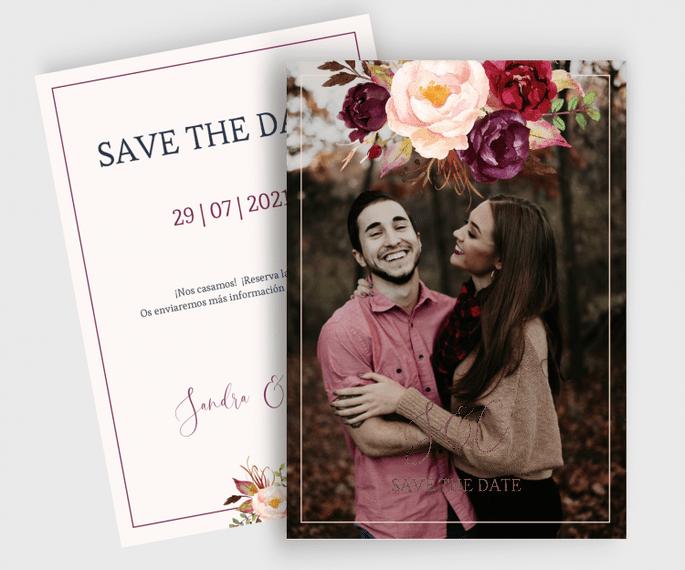 save the date con foto