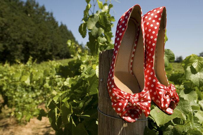 Lunares y más lunares para tu boda. Foto: Robert Crum via Shutterstock (2)