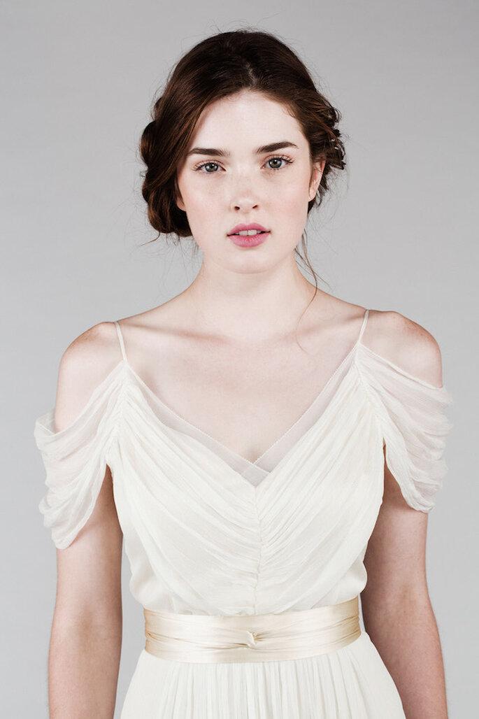 El vestido de novia perfecto para una boda clásica y elegante - Saja Wedding