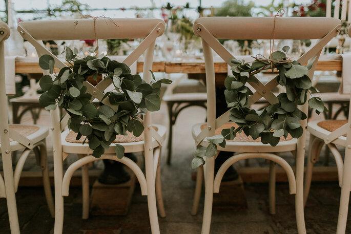 Tiny Wedding im Boho Stil Alte Gärtnerei München Tischdekoration