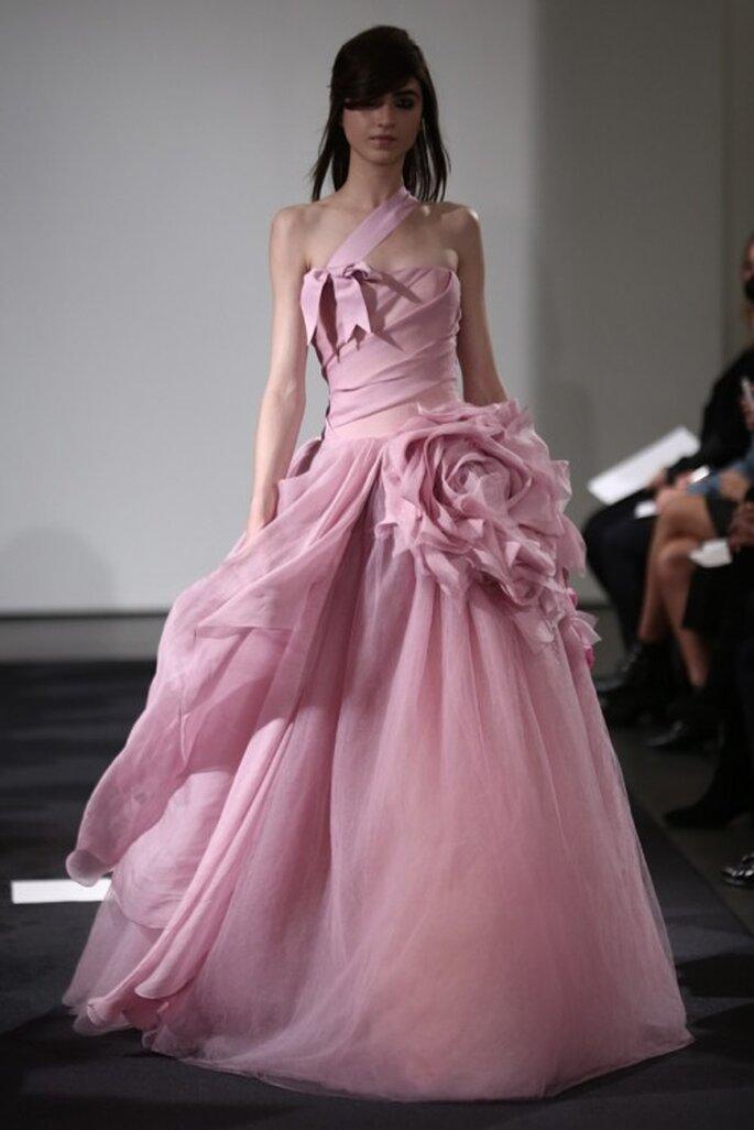 Lujo Wang Vestido De Novia De Color Rosa Vera Ideas - Ideas de ...
