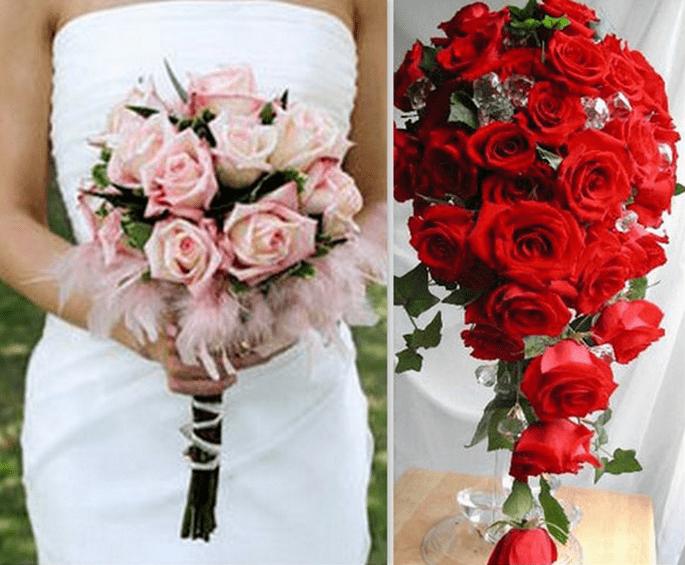 Un grande classico: il Bouquet di rose, rosa o rosse