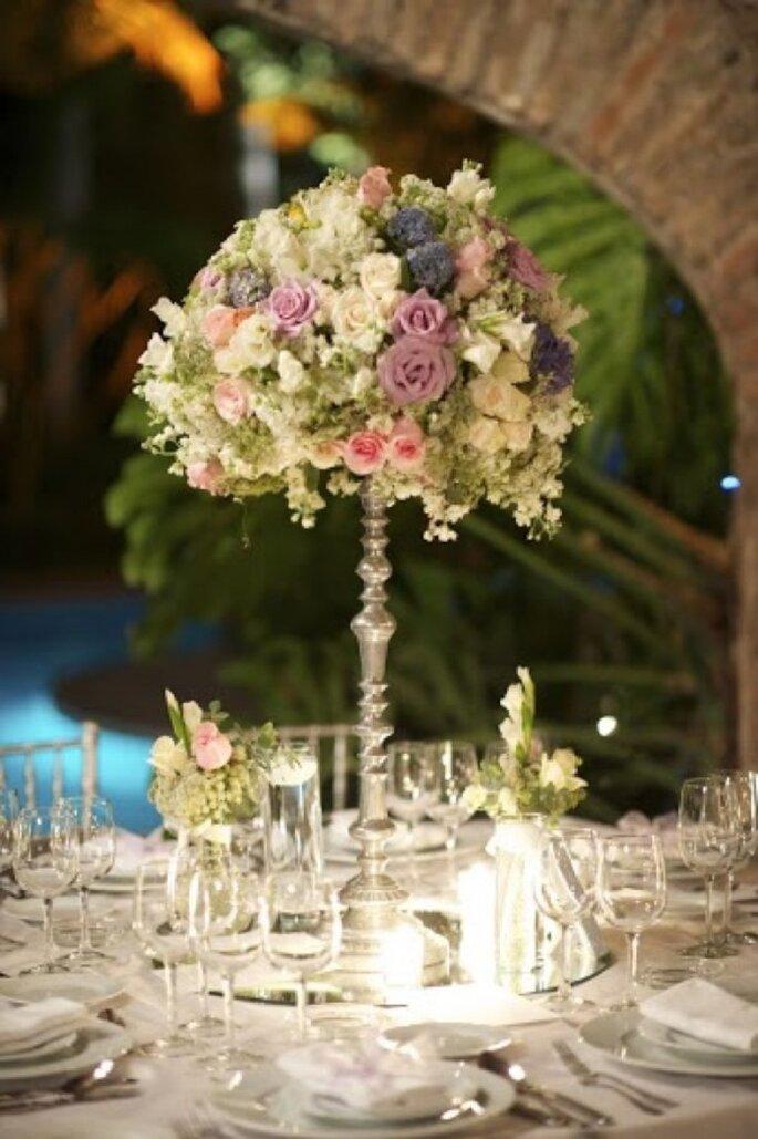 Ambienta tu boda con velas románticas - Foto Taller de Tallos