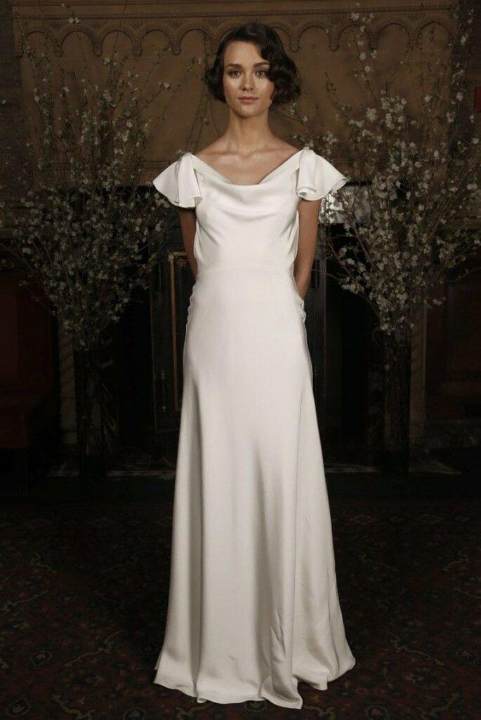 Vestidos de novia 2015 con estética minimalista - Austin Scarlett