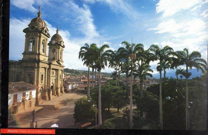 Vista de Socorro. Foto: Facebook - Socorro, Santander