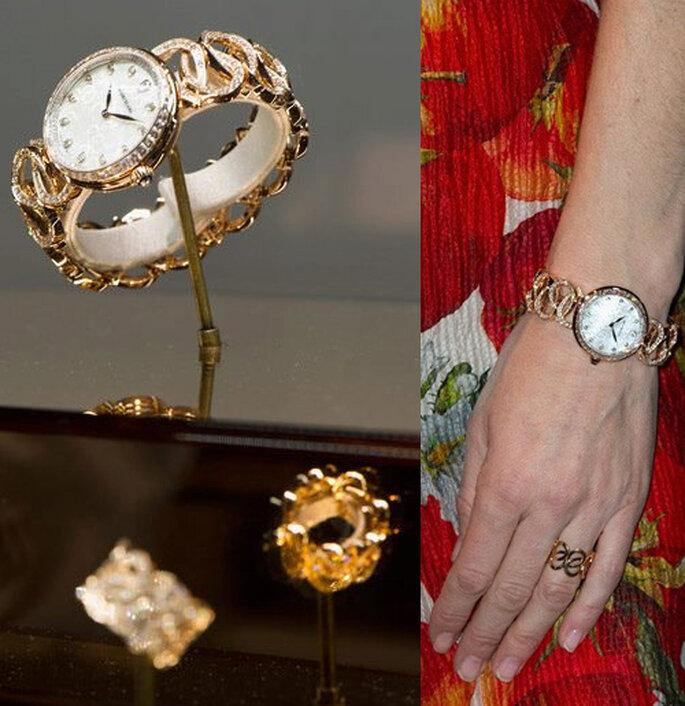 Reloj de la colección Montblanc Haute Joaillerie Petales Entrelaces - Foto: Facebook oficial Montblanc