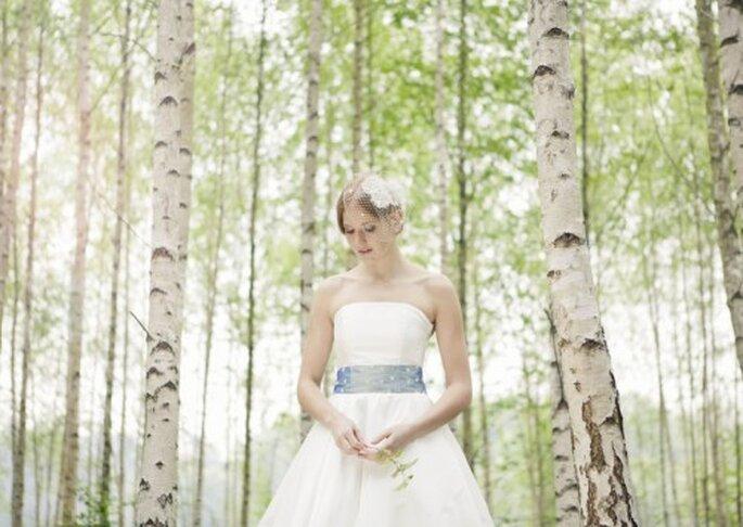 Schlichte Brautkleider mit dem gewissen Etwas von Noni – Foto: Noni Brautmoden