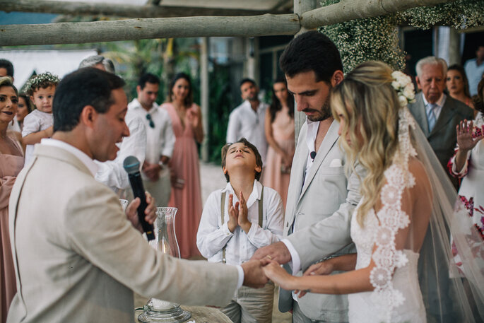 Cerimônia casamento praia