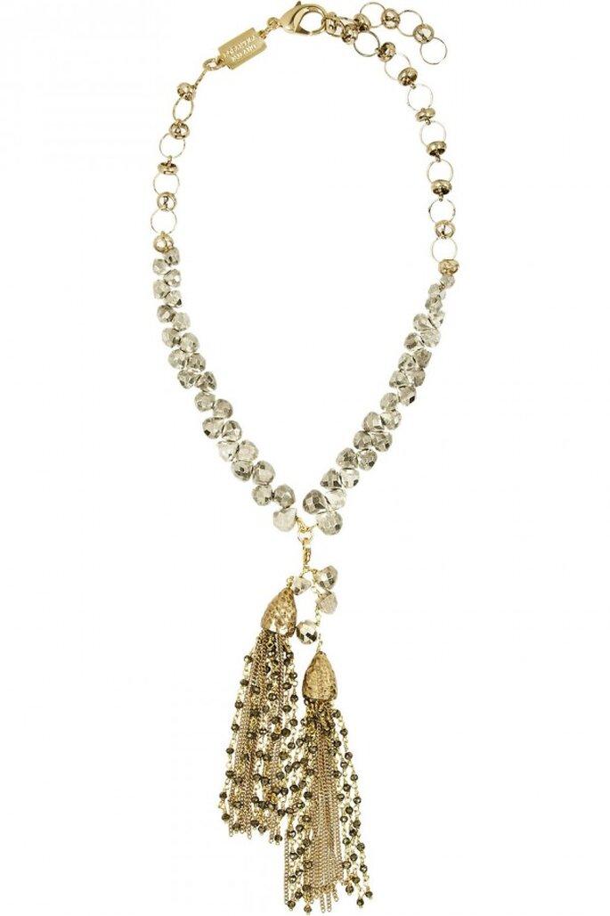 Statement necklaces para novia en tendencia - Foto Rosantica