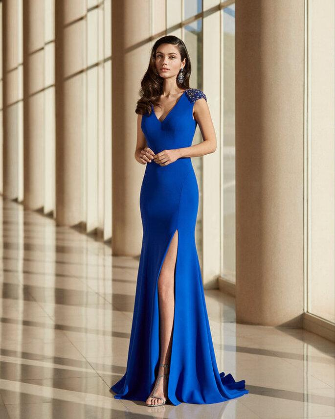 Vestidos azules para fiesta