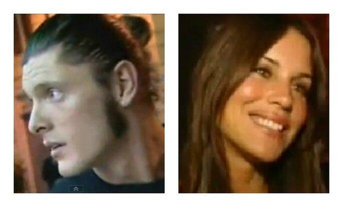Aldo Montano e Antonella Mosetti. Foto youtube.com