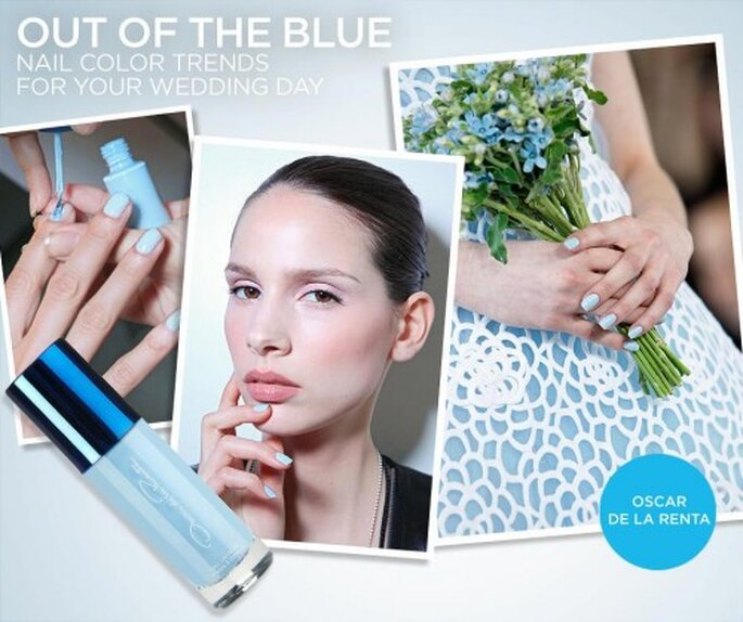 Tendencia en color azul pastel para el 2013 - Foto Colin Cowie Weddings