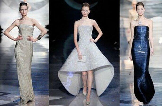 Interessanti idee per la sposa del prossimo anno nella Collezione Haute Couture 2011-2012 di Giorgio Armani