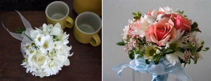 Algunas ideas de ramos para tu boda civil