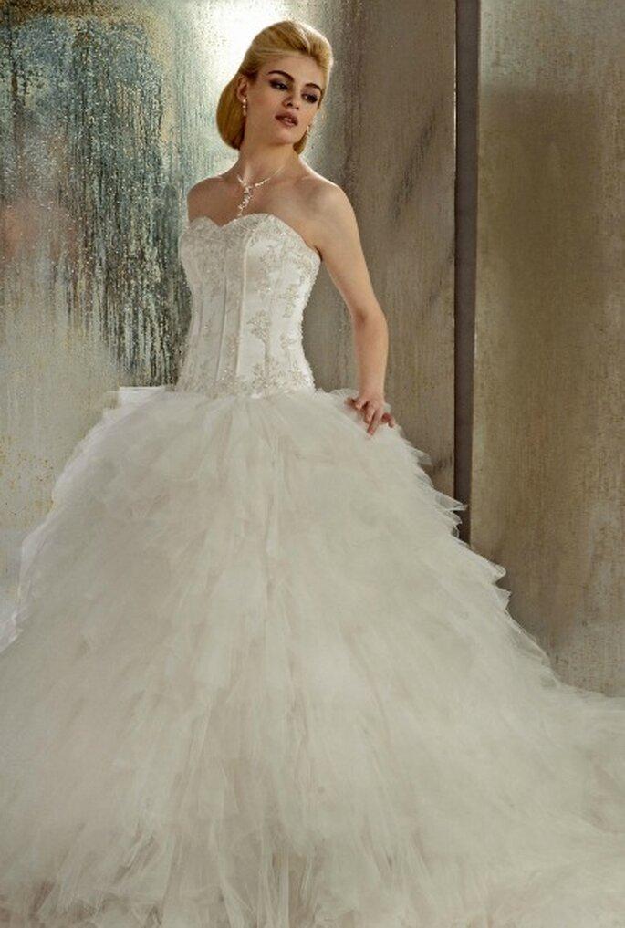 Robe de mariée Christine Couture 2013, modèle Etincelle