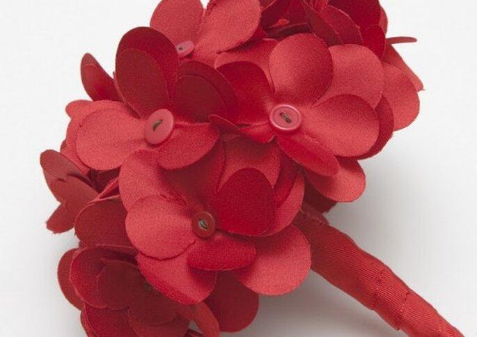 Eine Alternative zum klassischen Brautstrauß aus echten Blumen – Foto: bdeblanca