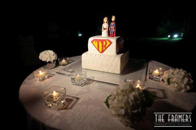 La torta nuziale - Foto: The Framers