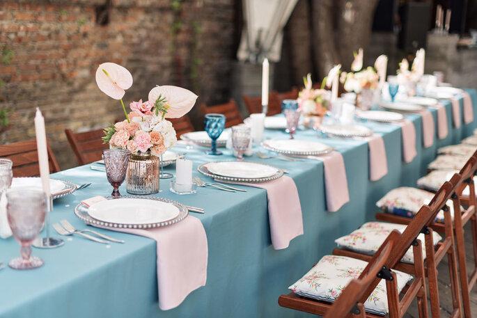 Table de mariage élégante
