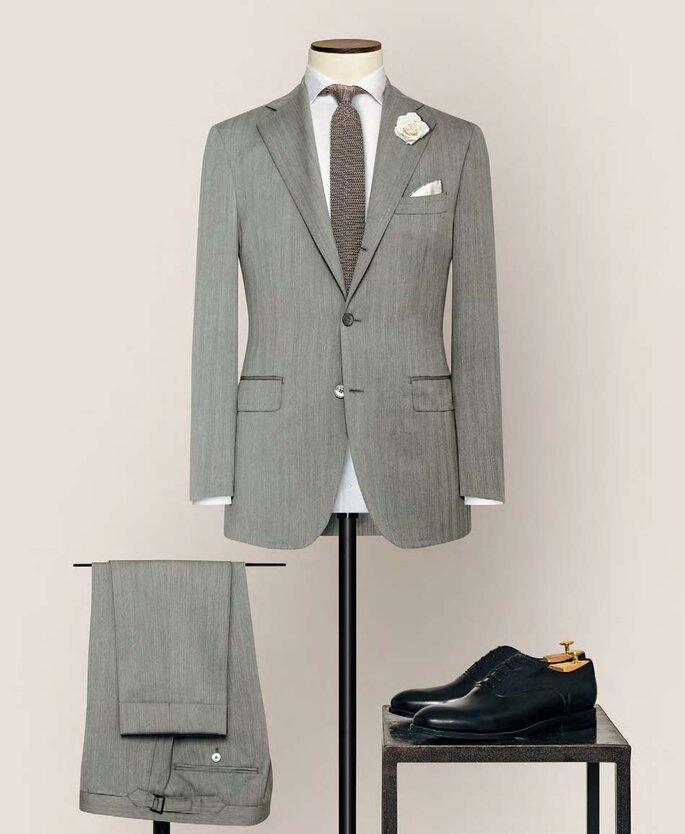Anzug von Alferano grau