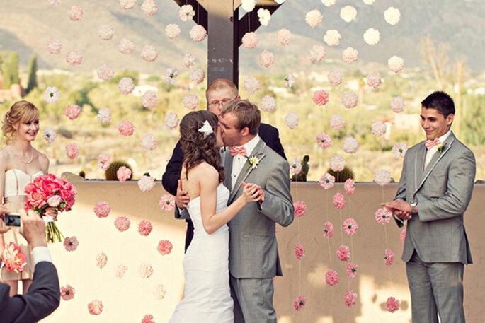 Las fotos de boda con los besos más románticos - Foto Lowe Photos