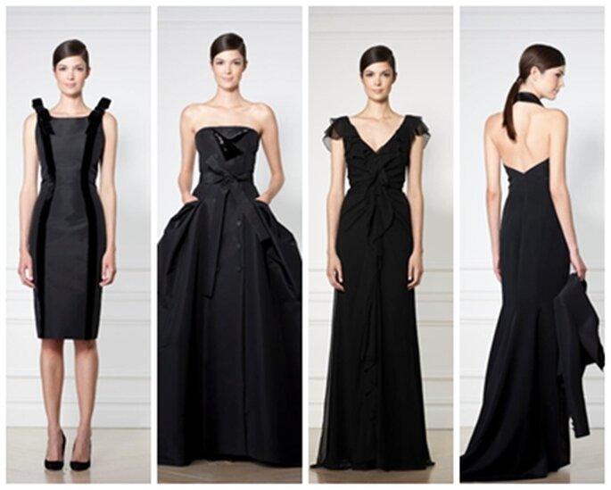 Ob lange oder kurze Kleider, Sie haben die Wahl! - Foto: offizielle Facebook-Seite Carolina Herrera