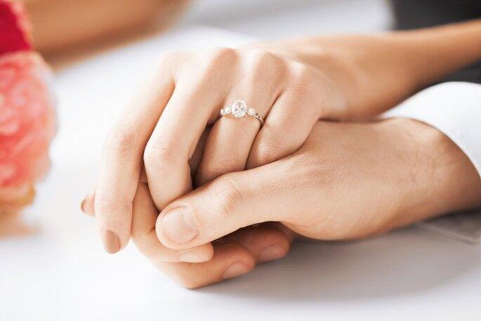 10 datos curiosos sobre el matrimonio - Foto Syda Productions en Shutterstock