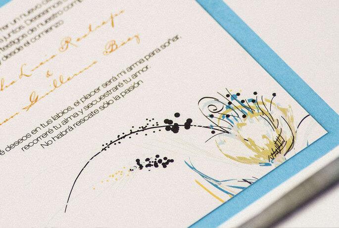Monograma Invitaciones con Diseño