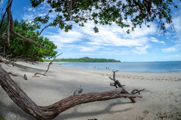 praia na Costa Rica